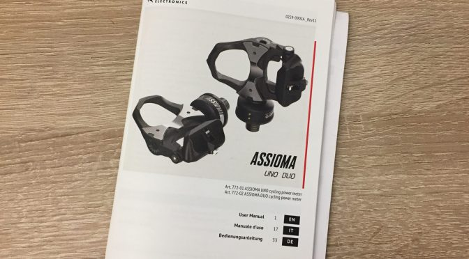 Plötzlich Probleme mit den Favero Assioma Duo Powermeter-Pedalen