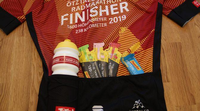 Kalorienverbrauch und Ernährung während eines Radmarathons